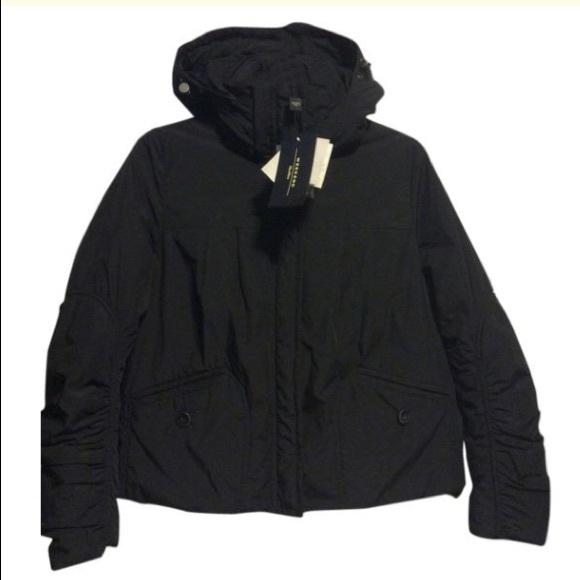 MaxMara Jackets & Blazers - Max Mara Weekend Black Down Ski Jacket
